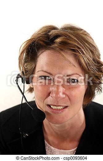 receptionist - csp0093604