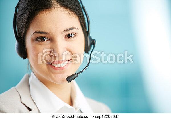 Receptionist - csp12283637