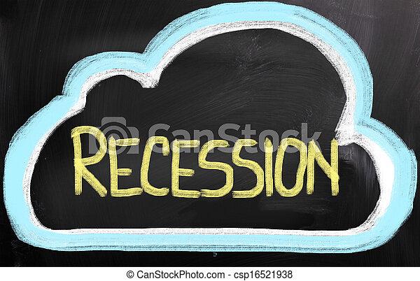 Recession Concept - csp16521938