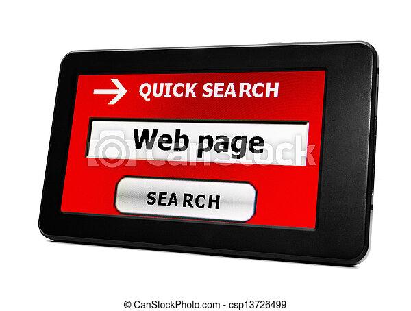 recherche enchaînement, page - csp13726499