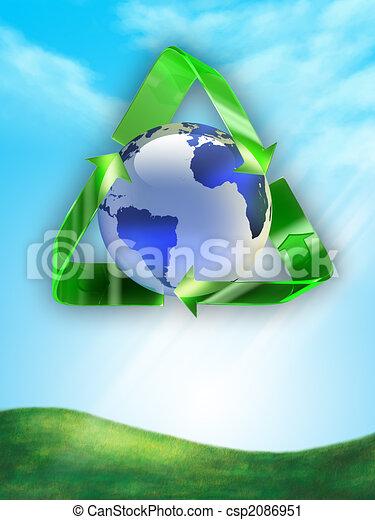 reciclagem - csp2086951