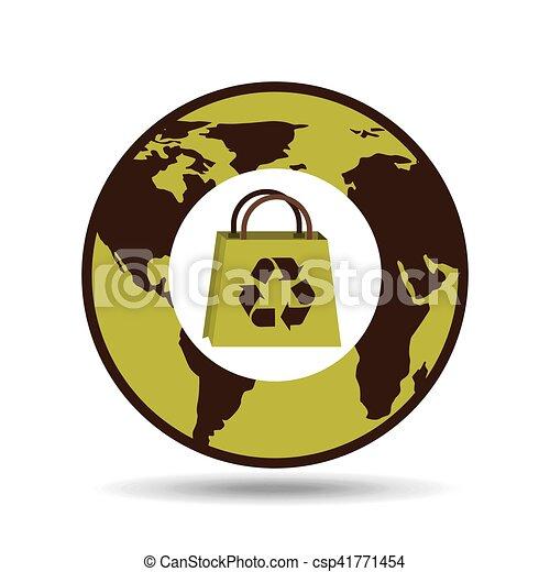 reciclagem mundial gráfico desenho saco 10 gráfico reciclagem
