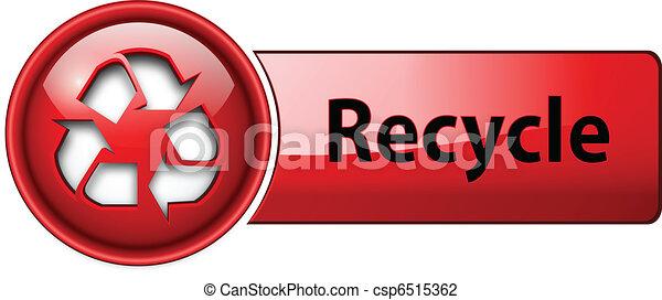 Recicla el botón de icono. - csp6515362