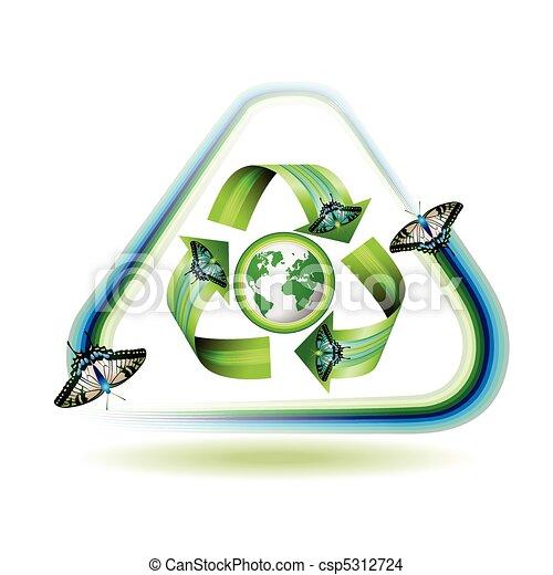 icono reciclado - csp5312724