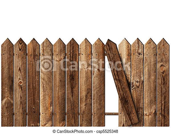 recinto legno - csp5525348