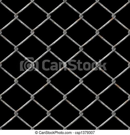 recinzione chainlink, ruggine - csp1379307