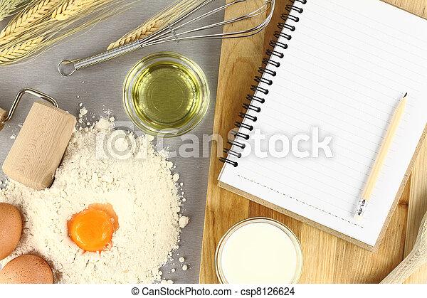 Recipe book - csp8126624