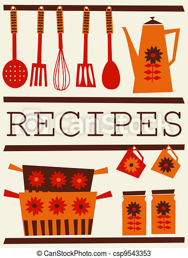 Recipes Card - csp9543353