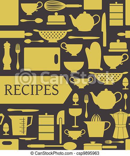 Recipes Card - csp9895963