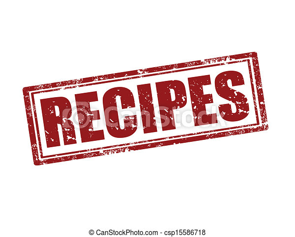 Recipes,stamp