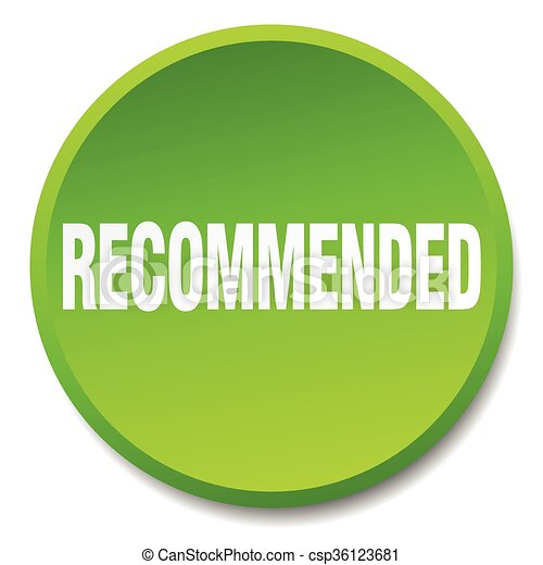 recommended green round flat isolated push button - csp36123681
