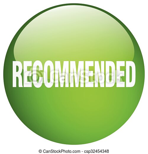 recommended green round gel isolated push button - csp32454348