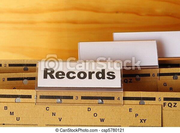 records - csp5780121