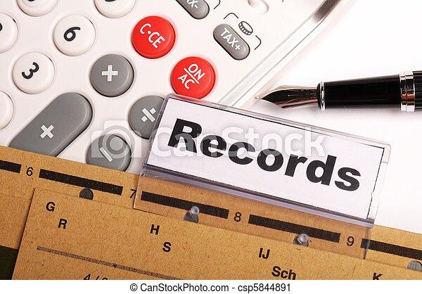 records - csp5844891