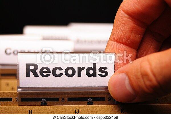 records - csp5032459