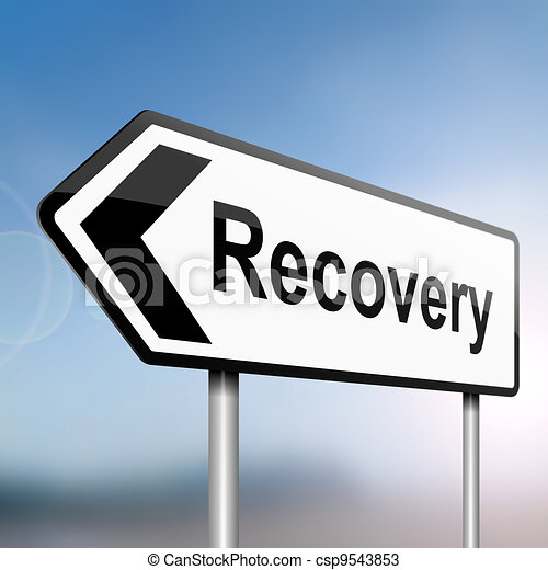 Recovery concept. - csp9543853