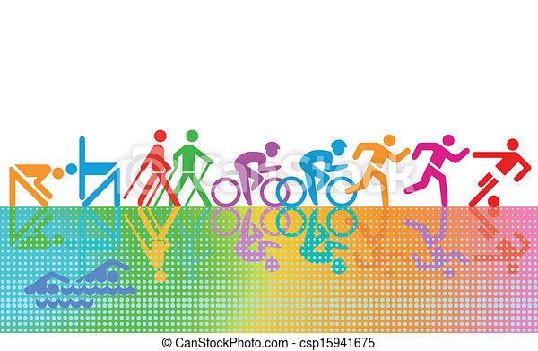 recreação, esportes - csp15941675