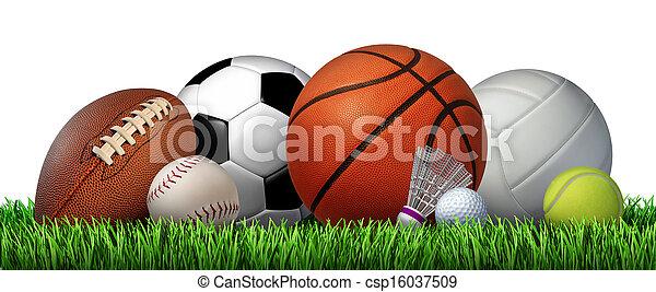 recreação, lazer, esportes - csp16037509