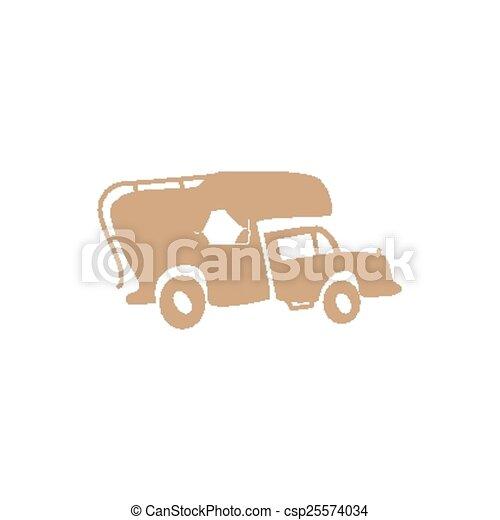 recreatief voertuig - csp25574034