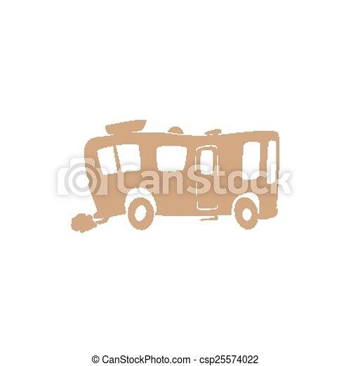 recreatief voertuig - csp25574022