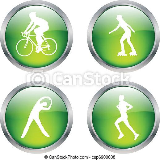 recreation buttons - csp6900608