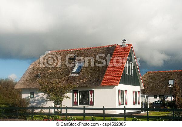 Recreational villas in nature - csp4532005