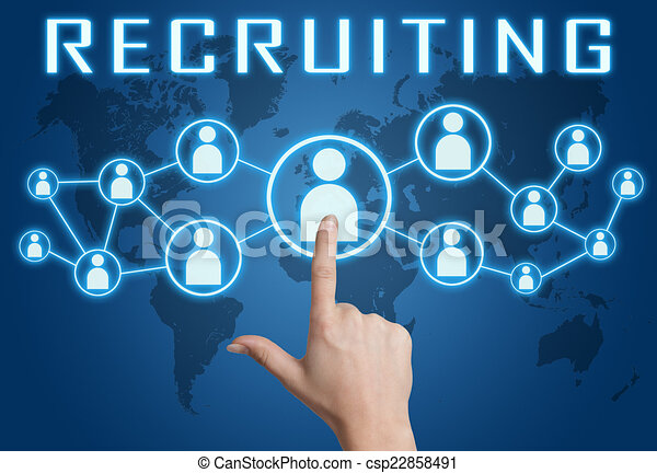 Recruiting - csp22858491