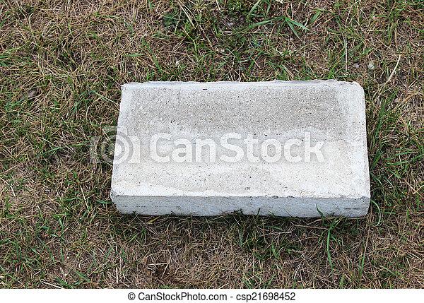Rectangle Cement Block - csp21698452