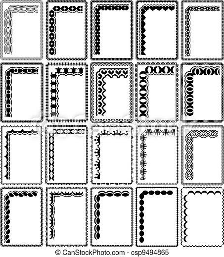 rectangular frames - csp9494865