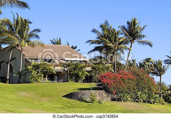 recurso, kihei, havaí, localizado, condomínio, maui - csp3742854