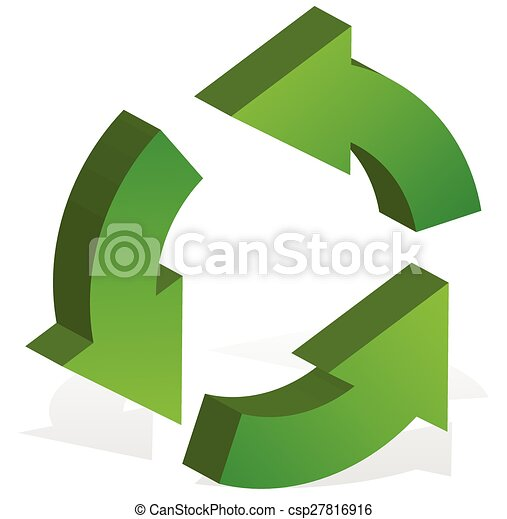 recyclage fl ches tourner 3 vert arrows recycler clipart vectoris recherchez. Black Bedroom Furniture Sets. Home Design Ideas
