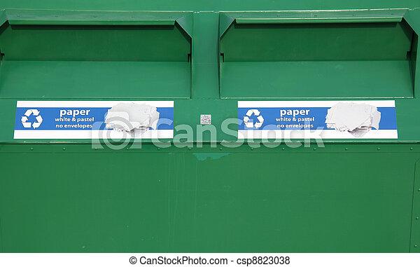 Recycle bin. - csp8823038