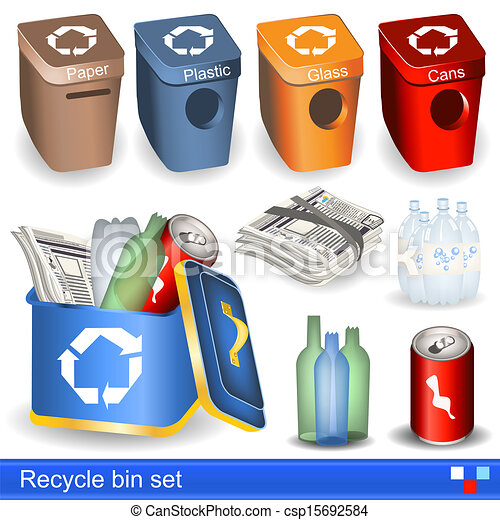 recycle bin set - csp15692584