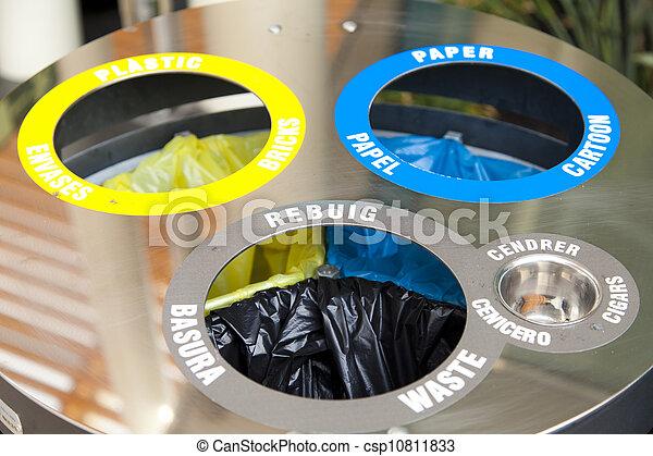 Recycle Bin - csp10811833