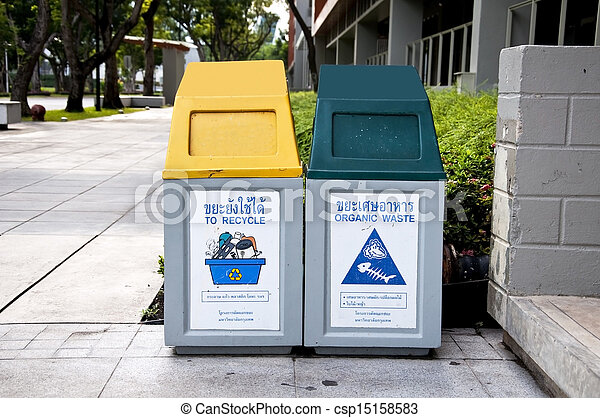 Recycle Bins - csp15158583