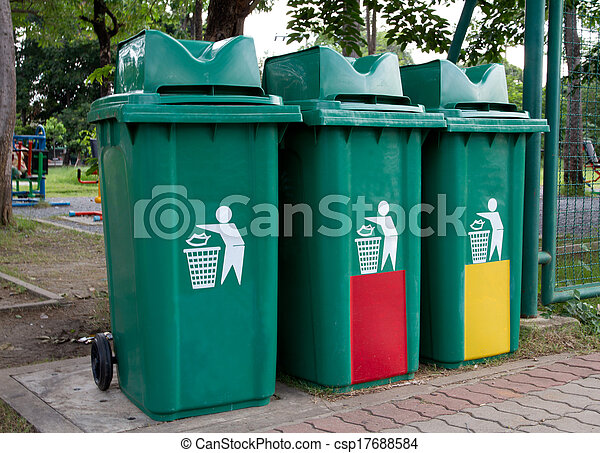 Recycle Bins - csp17688584