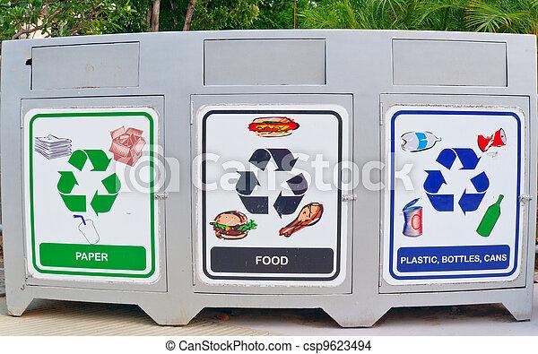 recycle bins - csp9623494