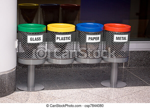 recycle bins - csp7844080
