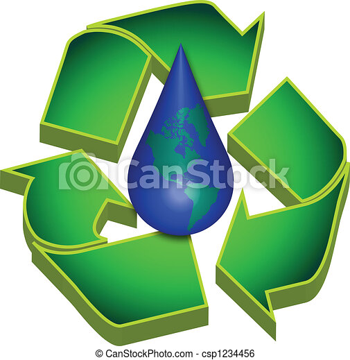 Recycle Earths Water - csp1234456