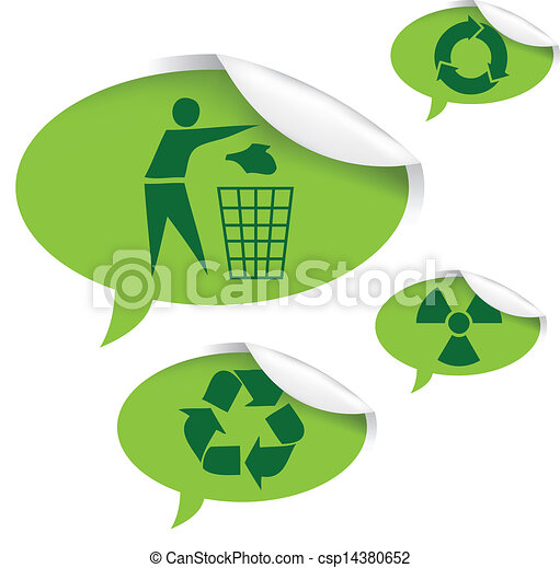 recycle sign - csp14380652