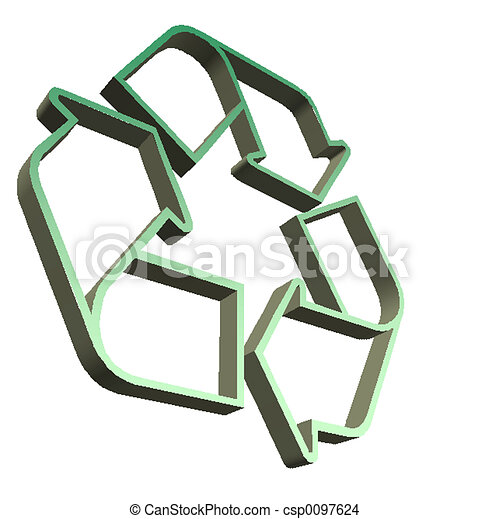 Recycle Sign - csp0097624