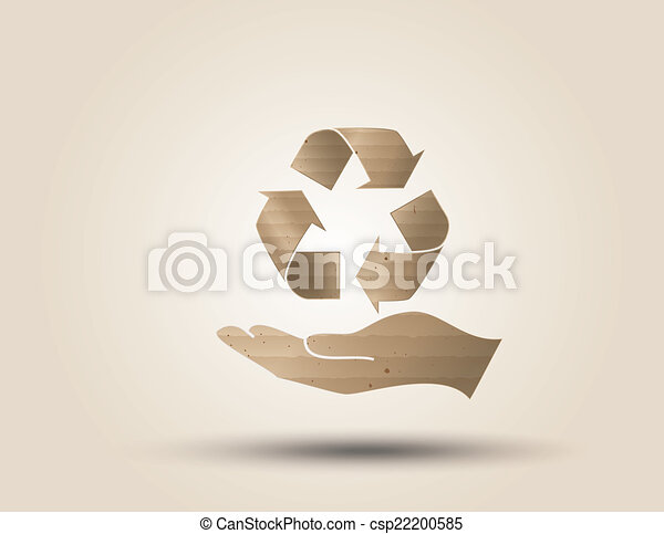 Recycle symbol or sign of conservation . - csp22200585