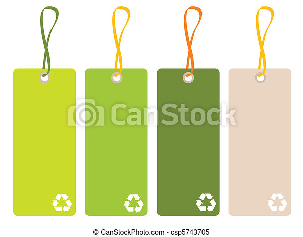 recycle tags - csp5743705