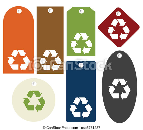 recycle tags - csp5761237