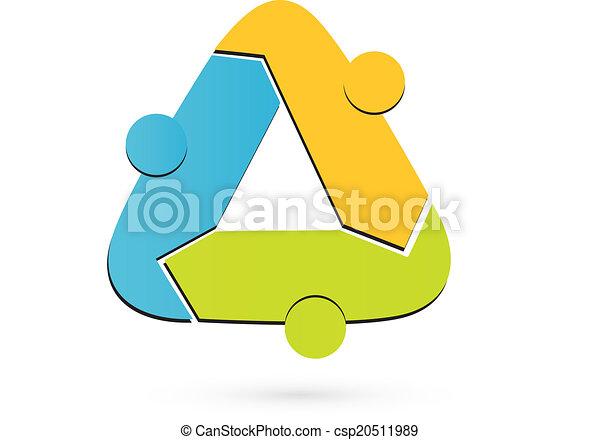 recyclez logotype, collaboration, gens - csp20511989