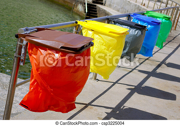 Recycling Bags - csp3225004