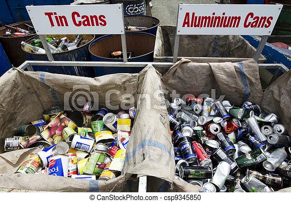 Recycling Center - csp9345850