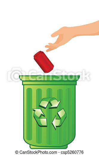 Recycling concept - csp5260776
