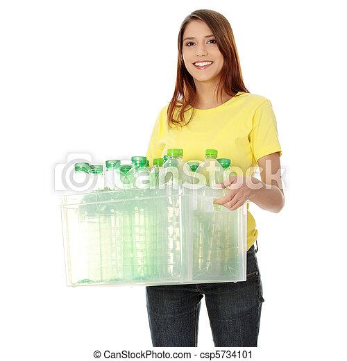 Recycling concept - csp5734101