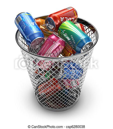 Recycling concept - csp6280038